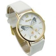 Ravel Ladies Butterfly Design Quartz Watch White Strap R0135.04.2